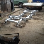 Land Rover galvanised chassis replacement