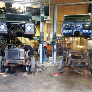 Land Rover TD5 Galvanised Chassis Replacement 3